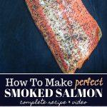 Smoked Salmon Pinterest text