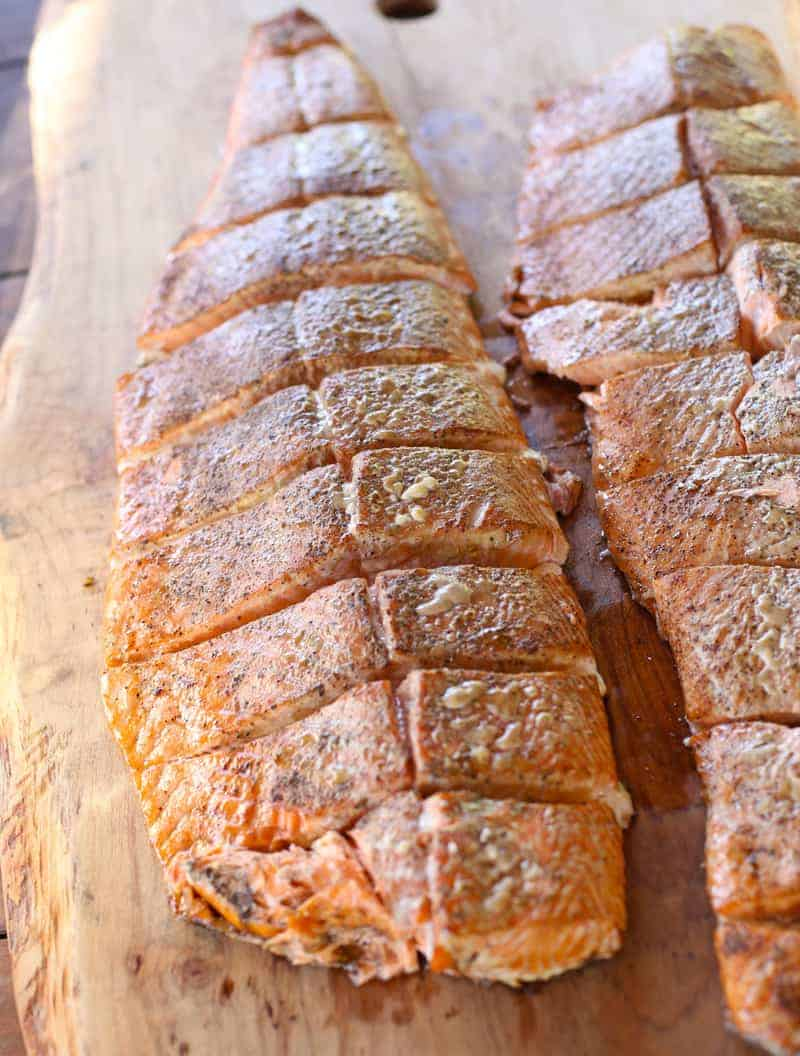 Smoking Salmon for events or large groups