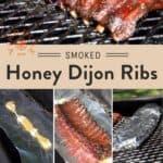 Honey Dijon Smoked Pork Ribs Pin