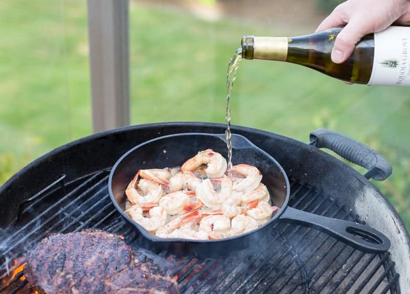 Sequoia Grove Chardonnay and Grilled Shrimp