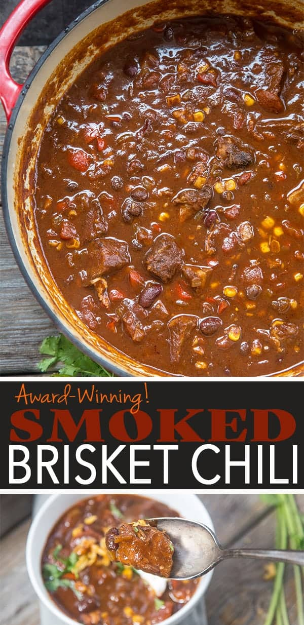 Award Winning Smoked Brisket Chili