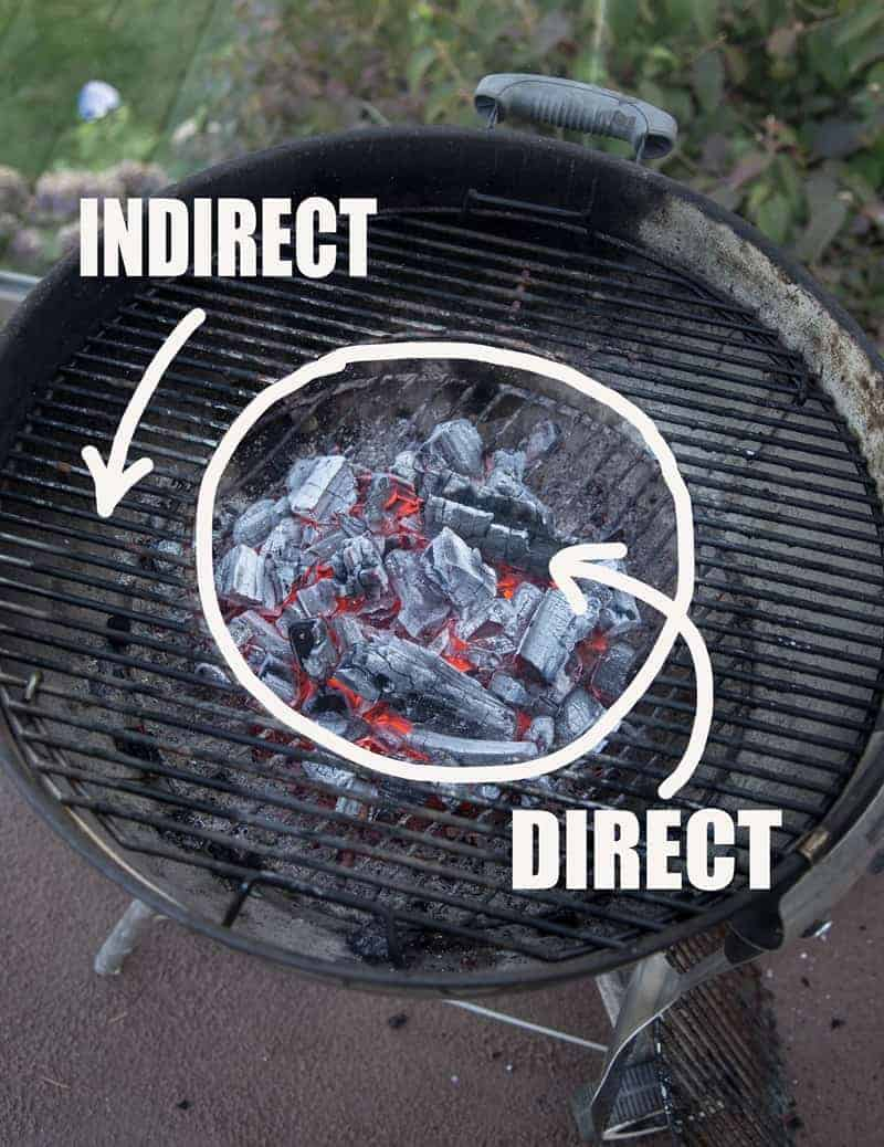 Direcrt vs Indirect heat circular ona kettle grill