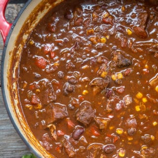 Smoked Beef Brisket Chili -- Best use for leftover brisket
