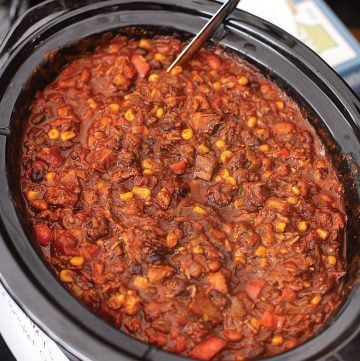 Smoked Brisket Chili (recipe and video)