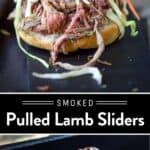 Pulled Lamb Sliders Pin