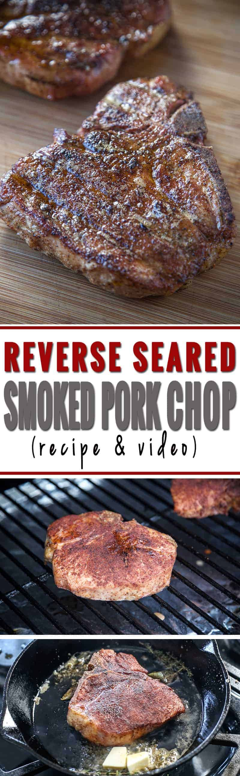 Reverse Seared Smoked Pork Chop. These ain't your Mama's pork chops! These are super tender and full of incredible flavor
