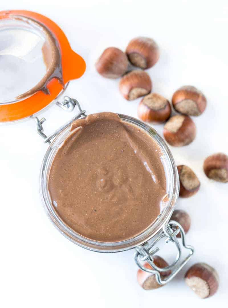 Smoked Hazelnut Nutella