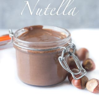 Smoked Hazelnut Nutella (recipe and video)