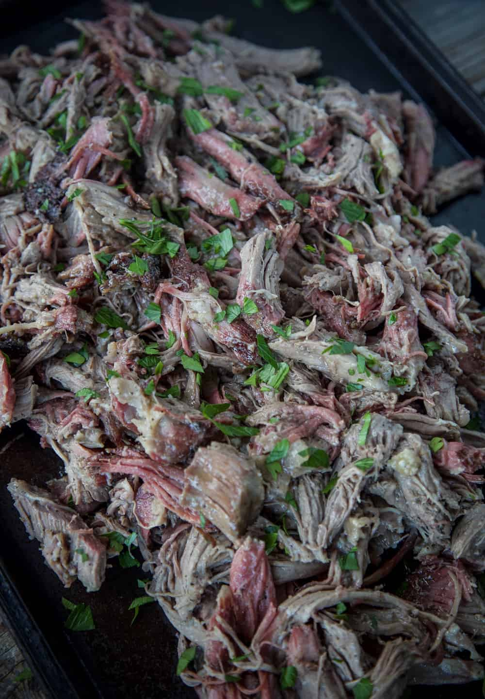 Smoked Pulled Lamb Shoulder 3
