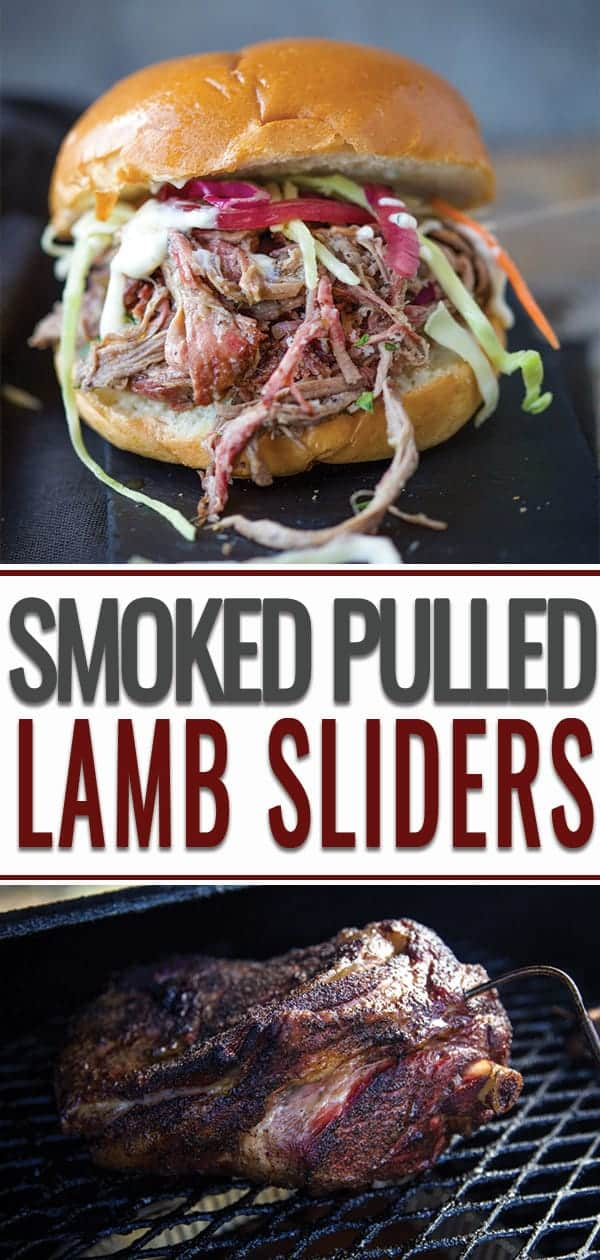 Smoked Pulled Lamb Sliders