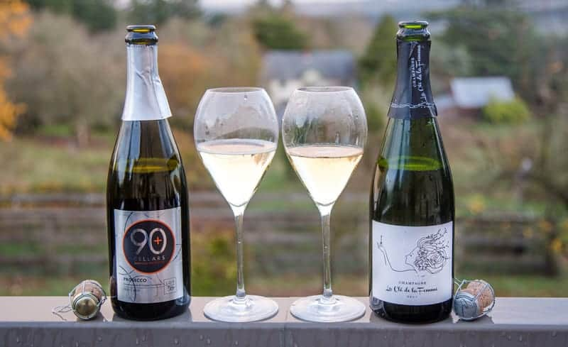 90+ Cellars Sparkling Wines