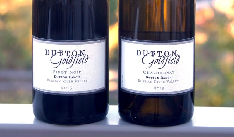 Dutton Goldfield 2015 Pinot Noir and Chardonnay, Russian River Valley