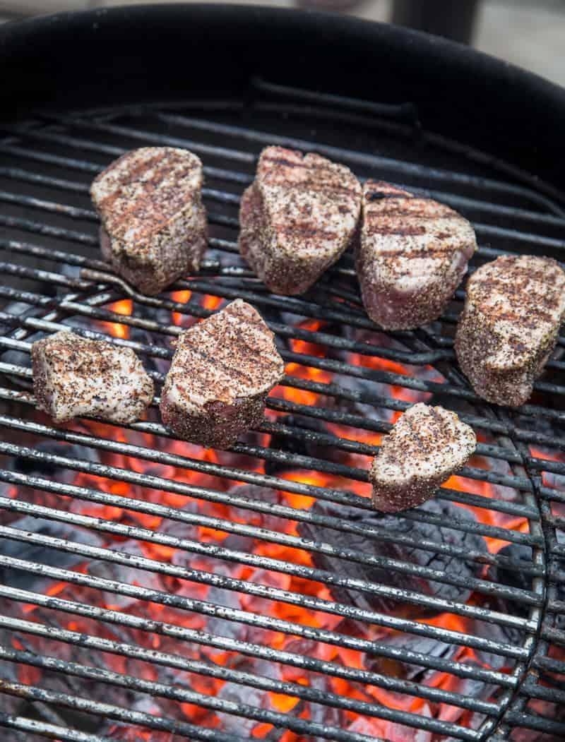 Grilling Pork Tenderloin Medallions