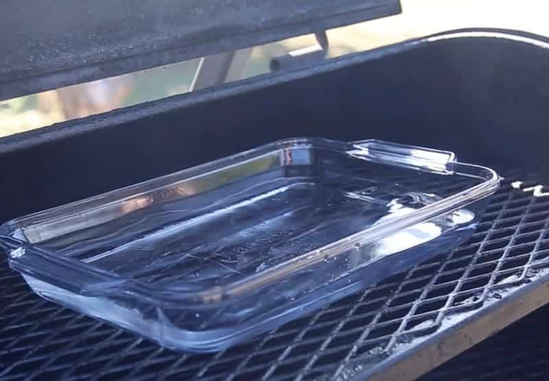 How to make smoked ice.