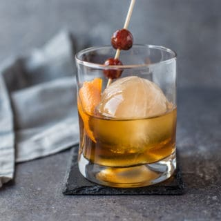Smoked Ice Cocktail