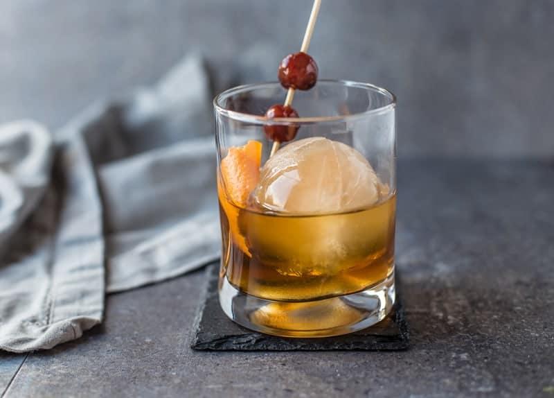Smoked Ice Cocktail