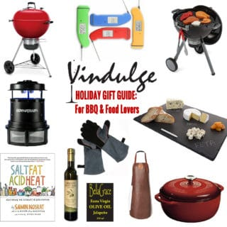 Vindulge Gift Guide 2017 BBQ and Food Lovers