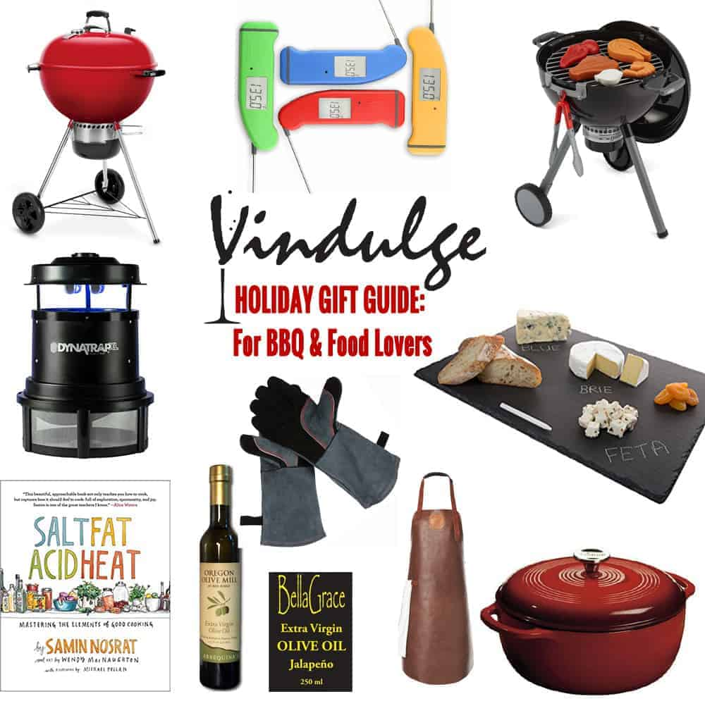 Holiday Gift Guide 2017 for BBQ, Grilling, and Food Lovers