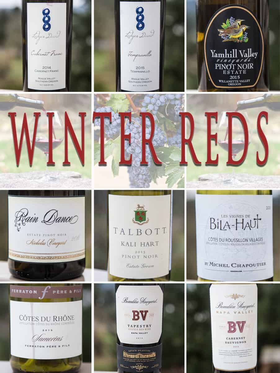 9 Winter Wine Recommendations for Winter 2018