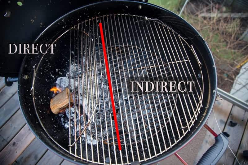 Direct vs Indirect Heat Cooking on a Grill
