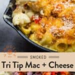 Tri Tip Mac and Cheese Pin
