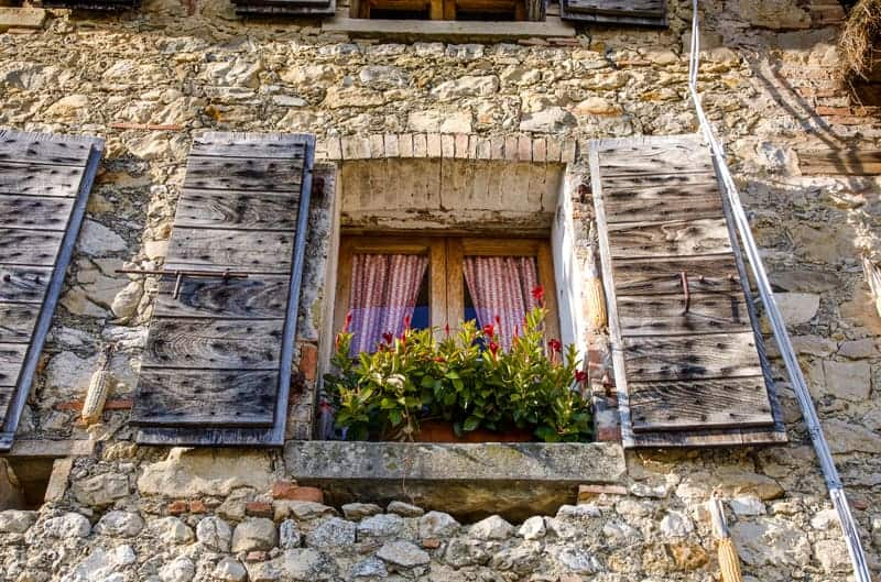 Beautiful Window in Italy