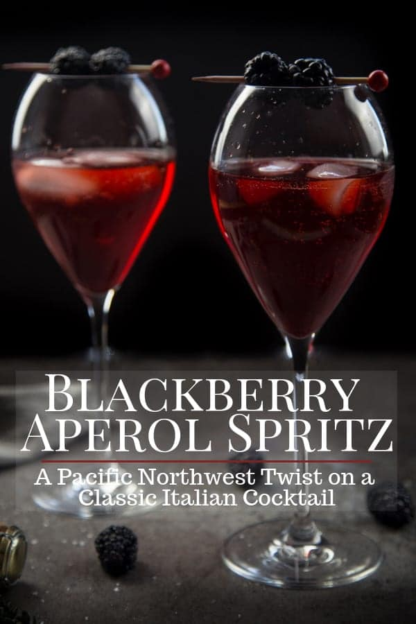 Blackberry Aperol Spritz Pinterest Image