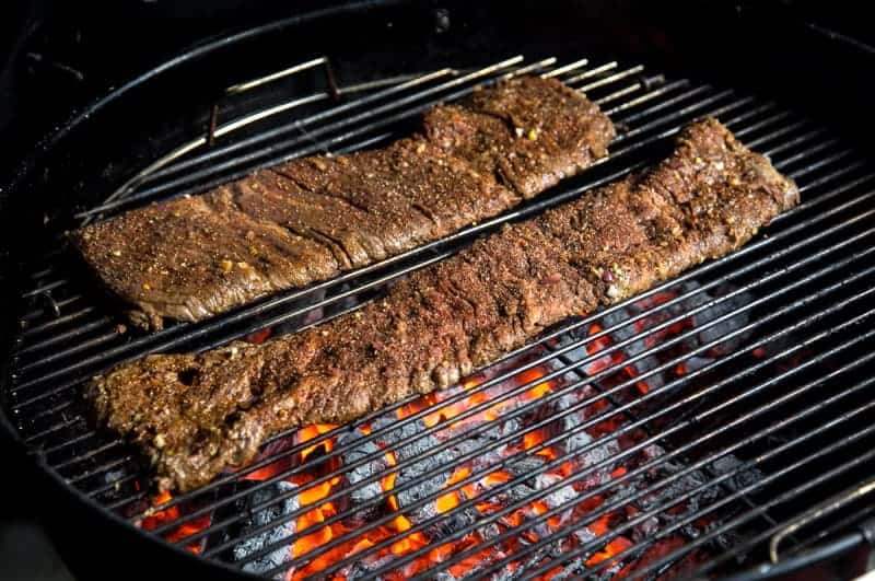 Grilling Skirt Steak on a Grill