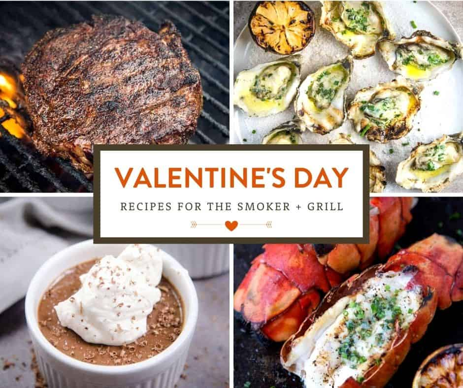 Vindulge Valentine's Day Round Up of Grilled and Smoked Foods.