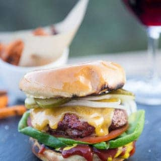 Classic All-American Cheeseburger — With a Twist!