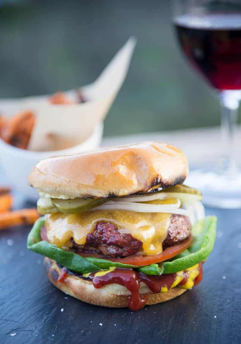 Classic All American Grilled Cheeseburger