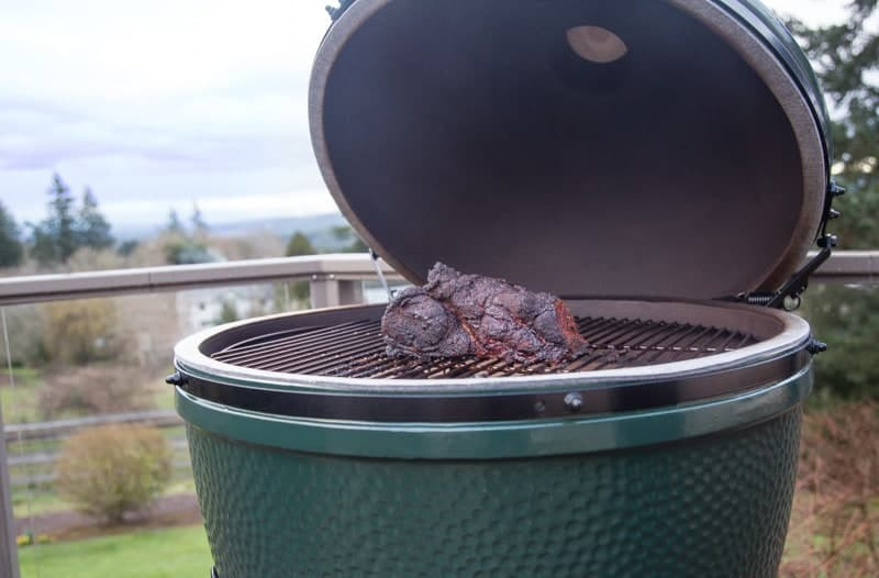 Smoked Pork Butt on a Big Green Egg