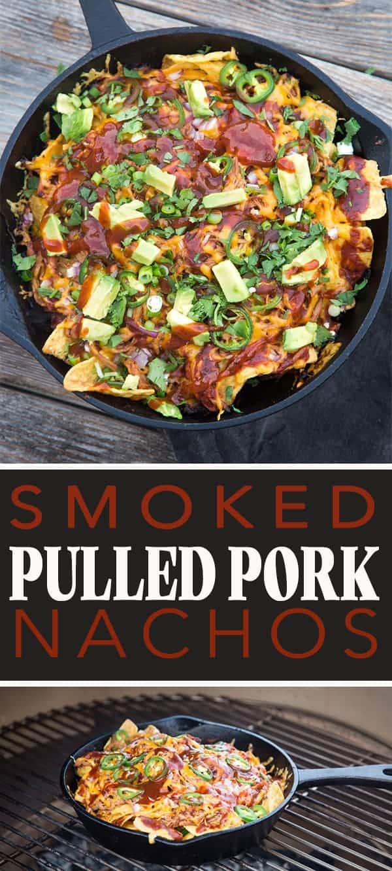 Smoked Pulled Pork Nachos