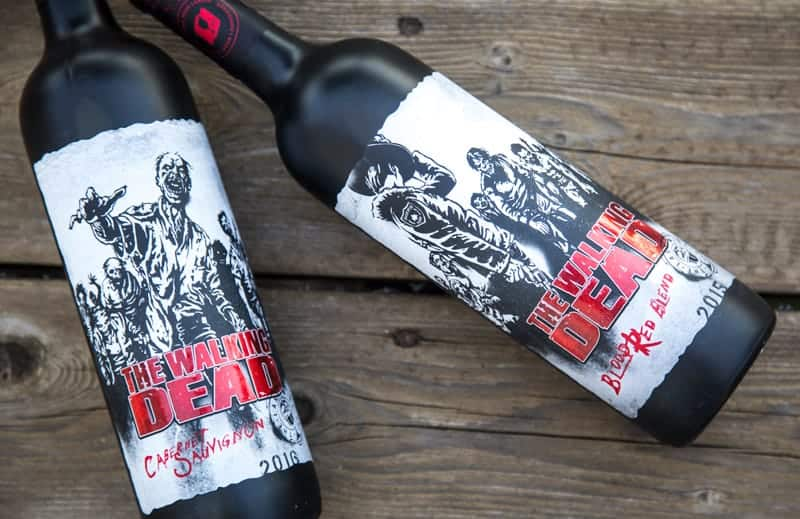 The Walking Dead Wines