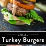Turkey Burger Pin