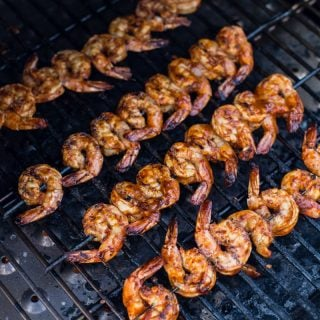 Chipotle Marinated Shrimp on the Grill