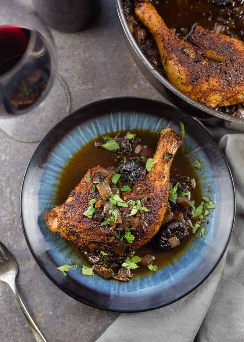 Meat with prunes. Chicken Cooking Recipe 37