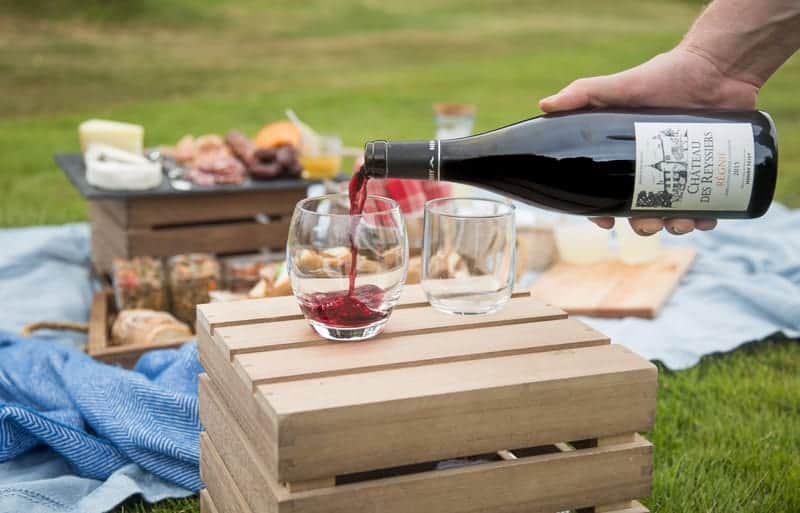Beaujolais Wine, Perfect for a Picnic