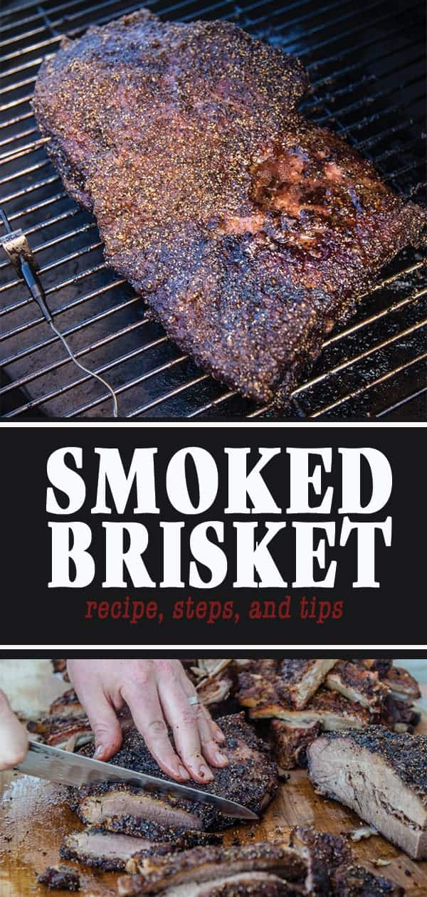 How to Smoke a Brisket and a Recipe for Smoked Brisket