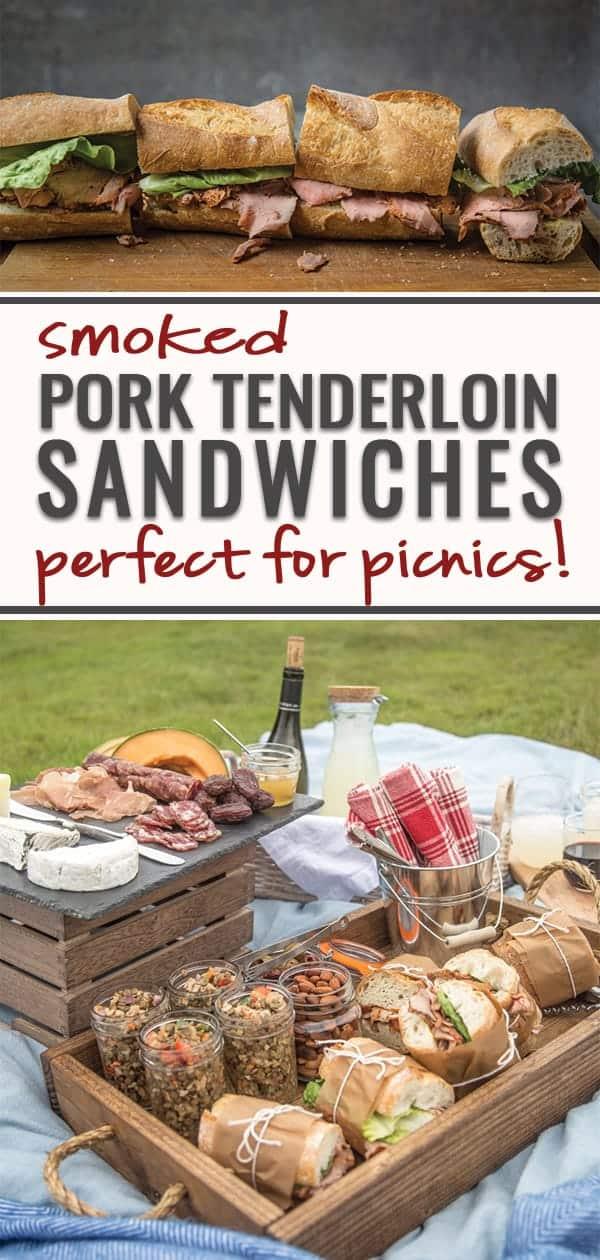 Smoked Pork Tenderloin Sandwiches