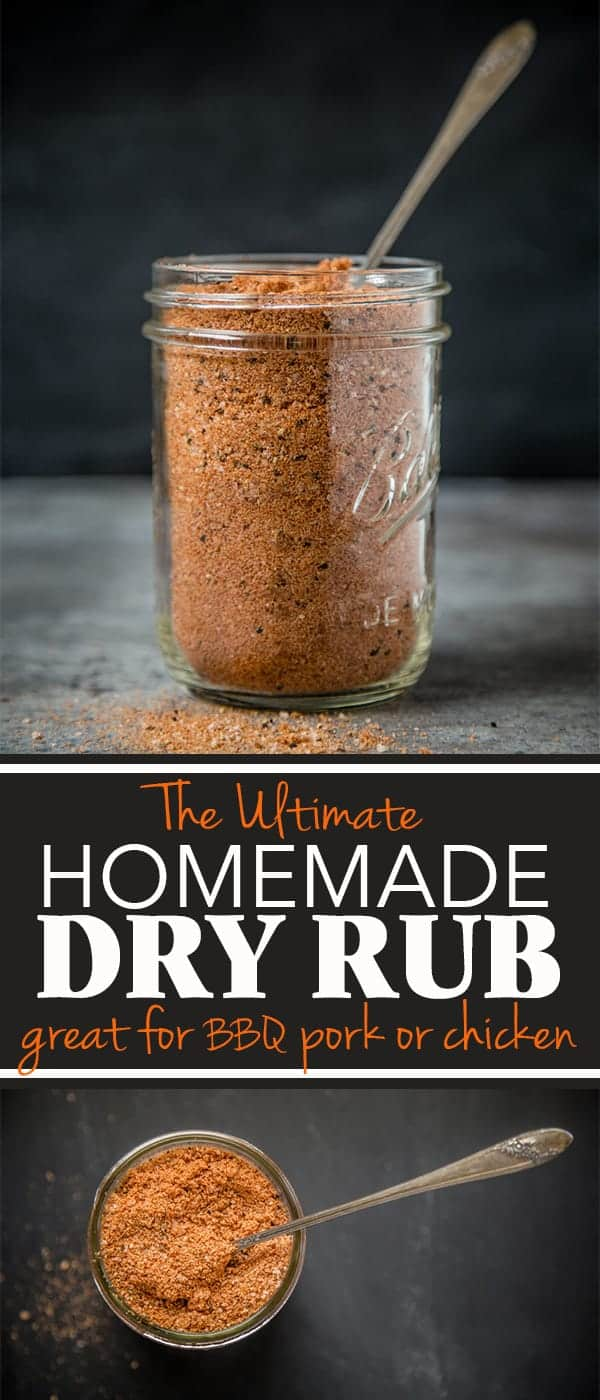 The Ultimate Homemade Dry Rub