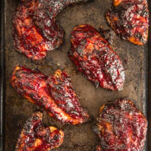 Grilled Chicken with Cherry Chipotle BBQ Glaze