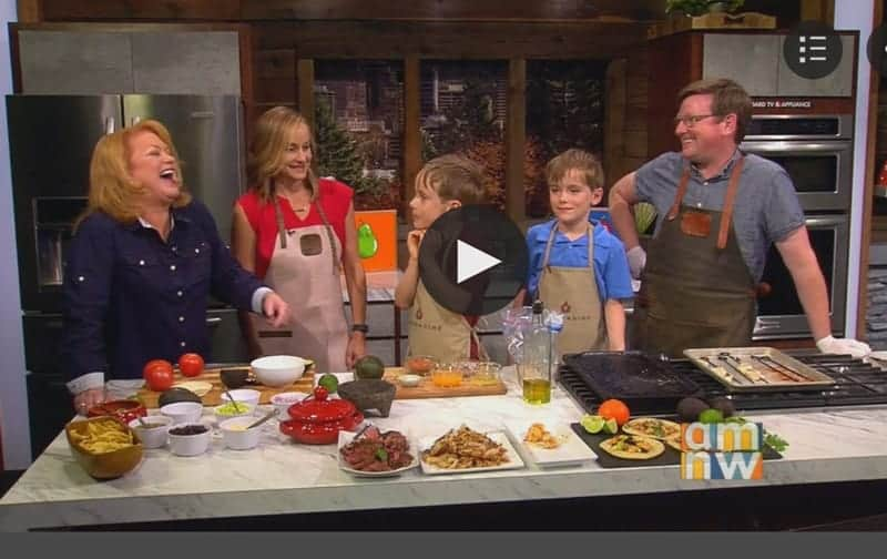 Cooking with Kids on TV