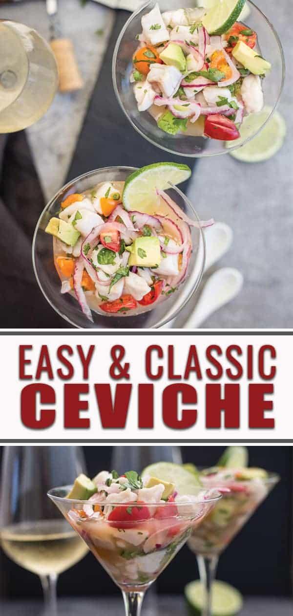 Easy Classic Ceviche