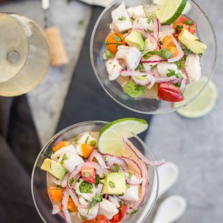 Easy Classic Ceviche Recipe (with white-fleshed fish)