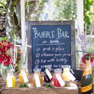 The Ultimate Mimosa Bar decorations
