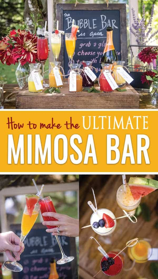 Mimosa Bar recipes and ideas