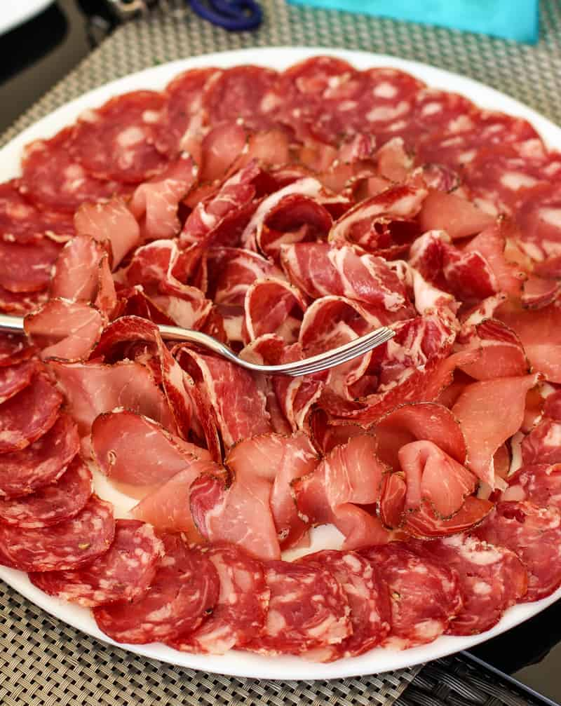 Charcuterie Plate in Italy