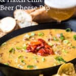 smoked sausage cheese dip pinterest image