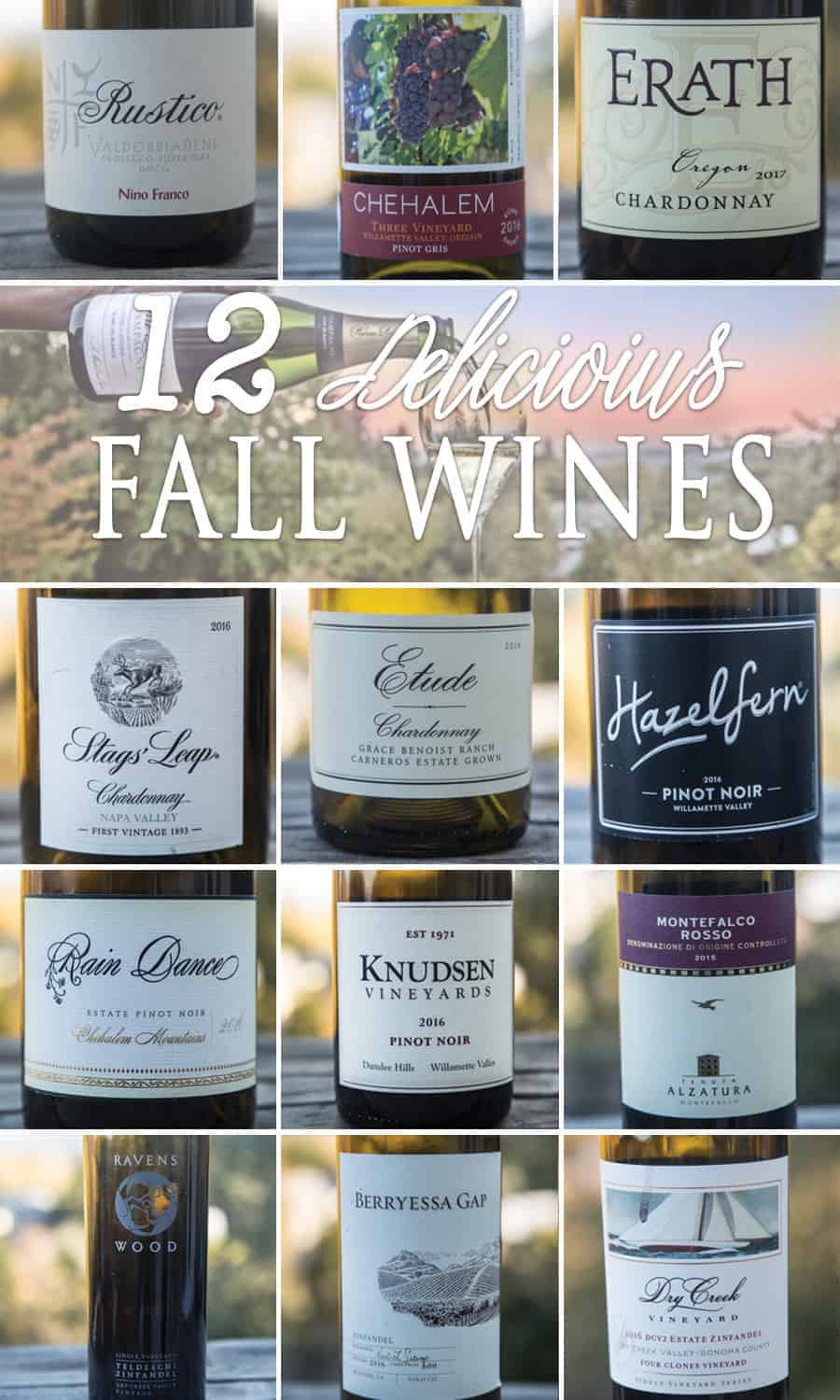 12 Wine Recommendations for Fall 2018